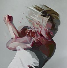Paintings by Simon Birch 9 #illustration #painting #movement #blur #art