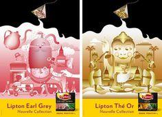 Mr L'Agent - News #campaign #design #illustration #lipton #forgot #emily
