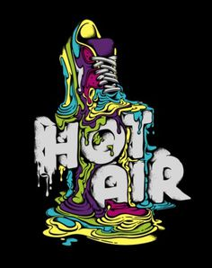 Typeverything.com - Nike Hot Air by Vanila. - Typeverything #illustration #design #typography