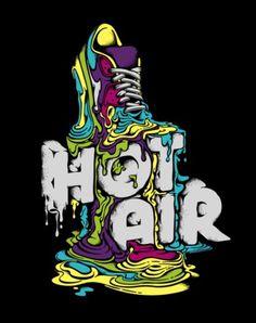 Typeverything.com - Nike Hot Air by Vanila. - Typeverything #design #illustration #typography