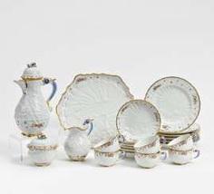 Meissen coffee service #porcelain
