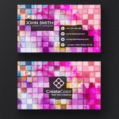 Creative business card on pixel background Free Psd. See more inspiration related to Logo, Business card, Mockup, Business, Abstract, Card, Template, Office, Visiting card, Presentation, Stationery, Corporate, Mock up, Company, Modern, Branding, Visit card, Identity and Brand on Freepik.
