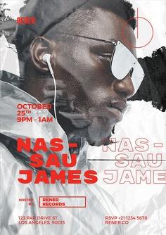 Hip Hop DJ Flyer Template
