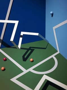 Ping Pong is a photography series by renowned London-based photographer, James Day. Featuring a deconstructed, multidimensional ping pong table, the project plays with light and shadows, geometric lines and illusion, as well as perspective. For more of the most beautiful designs visit mindsparklemag.com