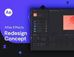 Adobe After Effects Redesign Concept simple, clean and minimal ux / ui redesign for adobe after effects animation and motion software. animation, motion, ux, ui, redesign, graphicdesign, graphic, typography, bandeins, sans, strange, font, adobe, after effects, dark, theme, design, Maximilian Müsgens, Aachen, Kommunikationsdesign https://www.behance.net/gallery/81871659/Adobe-After-Effects-Redesign-Concept