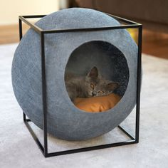 This collection of #cat #furniture adds class to your #home and #comfort for your cat! Create the perfect territory for your pet with these
