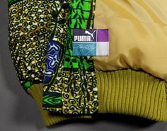 puma x kehinde wiley jacket 03 #puma #branding