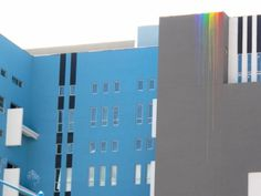 aesthetics of joy » Blog Archive » The joy of illegal rainbows #urban #paint #building #architecture #rainbow