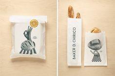 design work life » Fabio Ongarato Design: Baker D. Chirico Identity #inspiration #branding