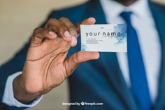 Businessman showing business card close up Free Psd. See more inspiration related to Business card, Mockup, Business, Card, Man, Presentation, Elegant, Present, Businessman, Mock up, Success, Business man, Modern, Show, Up, Close, Successful, Holding, Mock, Presenting and Showing on Freepik.