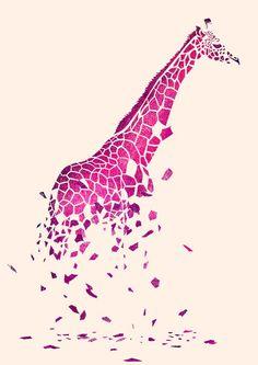 Autumn's Fall | Tang Yau Hoong #giraffe