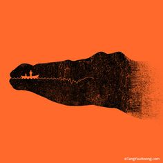 The Art of Negative Space: Part II on Behance #croc #poster