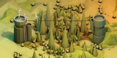 Dribbble - Scene.jpg by Timothy J. Reynolds #illustration