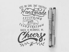 Branding by Joshua Krecioch #lettering #hand #typography
