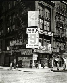 NEW YORK (1935-38) | InspireFirst #advertising #photography #posters #vintage #signs #signage #50s #typography