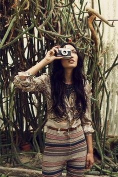 Buamai - | Picture | #camera #retro #girl #photo