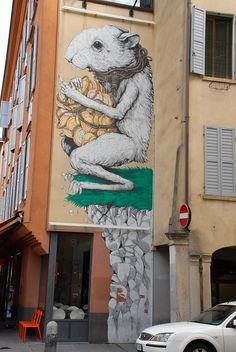 Ericailcane | BLDGWLF #art #street