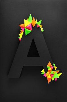 A #black #color #letter