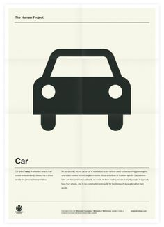The Human Project (Car) Poster