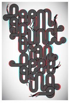 ★Baubauhaus. #type #typography