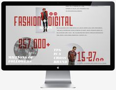 TFG Retail Infographics on Behance #infographics #fashion #info graphics #mac #stats #imac