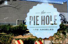 The Pie Hole — The Dieline #logotype