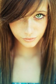 Freckled #eyes #photography #freckles