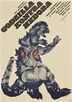 Polish #godzilla posters