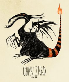 If Pokemon were drawn by Tim Burton #tim #burton #pokemon #illustation