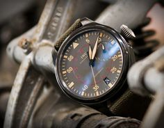 IWC Big Pilot Watch Top Gun Miramar #pilot #iwc #time #watch