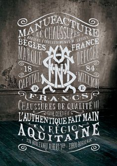 Typeverything.comBGLS Manufacture by BMD Design.(via @Zhompi) #type #lettering
