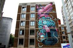 15 Massive Street Art Murals Around the World My Modern Metropolis #bristol