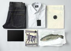 Chevychase Design Direction #clothing #fish #identity