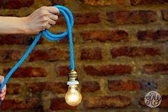 DIY Knitted Lamp | Agus Yornet Blog
