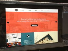 Cosmic Site Preview #website