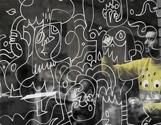 The Hoxton Window Project With Jon Burgerman | Kidrobot Blog #window