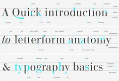 type-glossary-letterform-anatomy.png (980×672) #typography