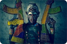 22 #knitting #photo #africa #arms #mask