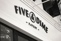 Graphic-ExchanGE - a selection of graphic projects #fivedime #design #brand #signage #logo
