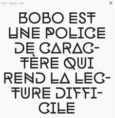 Bobo – Indian Type Foundry #typeface #typography #bobo #indiantypefoundry