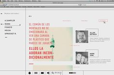 Lomo LC A Website on Behance #web