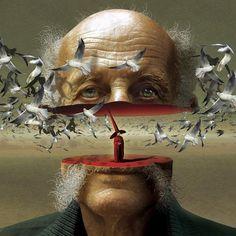 Surreal Illustrations by Igor Morski #igor #surreal #illustrations #morski