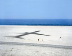 Main #airplane #sand #blue #beach #shadow