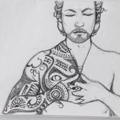 Francisco J Hernandez / Portfolio #heart #mudra #gentleman #tattoo #prana #yoga