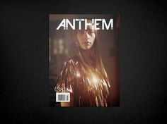 Graphic design inspiration #cover #anthem #magazine