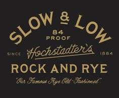 Slow & Low - Zachary K Taylor #typography
