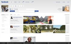Facebook Facelift - Home, Profiles & Publisher on the Behance Network