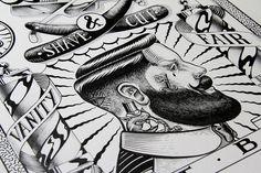 Ilustracixc3xb3n: Hello Shane #draw #ink