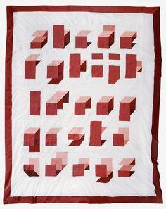 TYPEQUILT | ++ ARIAN FRANZ ++ #modular #craft #quilt #typography
