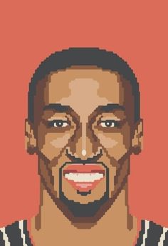 NBA Off-Season #illustration #basketball #art #pixel
